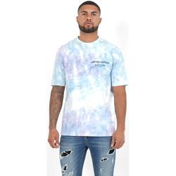 Υφασμάτινα Άνδρας Πόλο με μακριά μανίκια  Sixth June T-shirt  Custom Tie Dye noir