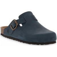 Παπούτσια Σαμπό Bioline 1900 BLU INGRASSATO Blu