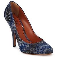 Παπούτσια Γυναίκα Γόβες Missoni VM005 Μπλέ