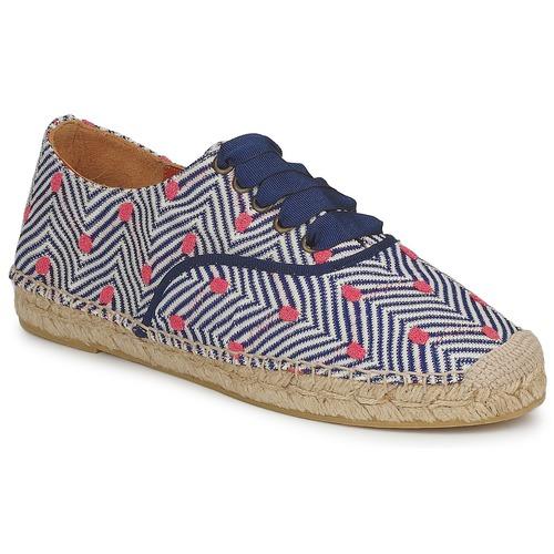 Παπούτσια Γυναίκα Εσπαντρίγια Missoni VM045 Μπλέ / Ροζ