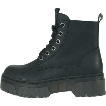 Παπούτσια Γυναίκα Μπότες Wrangler Piccadilly Mid Μαύρος