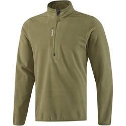 Υφασμάτινα Άνδρας Σπορ Ζακέτες Reebok Sport Fitness Outdoor Fleece Quarter Zip Πράσινος