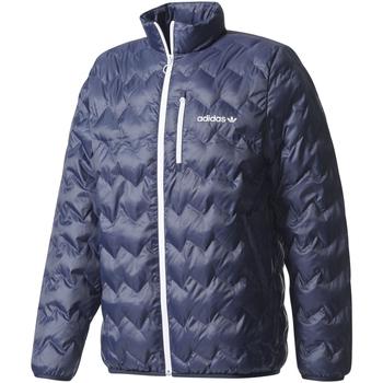Υφασμάτινα Άνδρας Σακάκια adidas Originals Originals Serrated Padded Μπλε