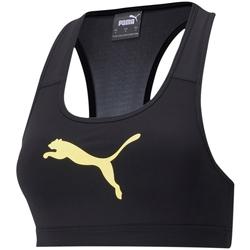 Υφασμάτινα Γυναίκα Αθλητικά μπουστάκια  Puma Mid Impact Μαύρος