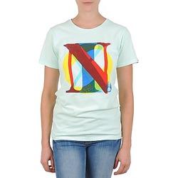 Υφασμάτινα Γυναίκα T-shirt με κοντά μανίκια Nixon PACIFIC Green