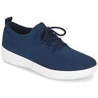 Παπούτσια Γυναίκα Χαμηλά Sneakers FitFlop F-SPORTY UBERKNIT SNEAKERS Marine