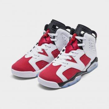 Παπούτσια Ψηλά Sneakers Nike Air Jordan 6 Carmine White/Black/Carmine
