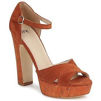 Παπούτσια Γυναίκα Σανδάλια / Πέδιλα JFK  Orange