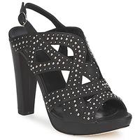 Παπούτσια Γυναίκα Σανδάλια / Πέδιλα Strategia CLOUCLOU Black