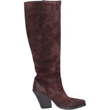 Παπούτσια Γυναίκα Μπότες Moma Μπότες BJ638 καφέ