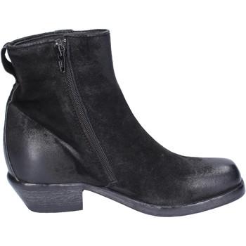 Παπούτσια Γυναίκα Μποτίνια Moma Μπότες αστραγάλου BJ652 Μαύρος
