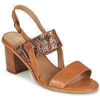 Παπούτσια Γυναίκα Σανδάλια / Πέδιλα Karston LIMEY Camel