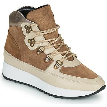 Παπούτσια Γυναίκα Ψηλά Sneakers JB Martin COURAGE Brown
