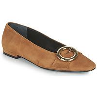 Παπούτσια Γυναίκα Μπαλαρίνες JB Martin SAVOIR Brown