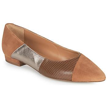 Παπούτσια Γυναίκα Μπαλαρίνες JB Martin TENDRE Brown