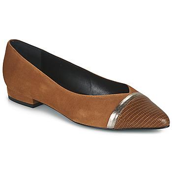 Παπούτσια Γυναίκα Μπαλαρίνες JB Martin TALENT Brown