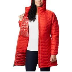 Υφασμάτινα Γυναίκα Φούτερ Columbia Powder Lite Mid Jacket Orange