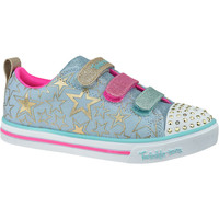 Παπούτσια Παιδί Χαμηλά Sneakers Skechers Sparkle Lite-Stars The Limit Bleu