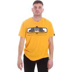 Υφασμάτινα Άνδρας T-shirt με κοντά μανίκια Caterpillar 35CC2510234 Κίτρινος