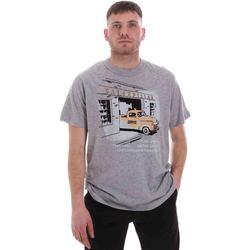 Υφασμάτινα Άνδρας T-shirt με κοντά μανίκια Caterpillar 35CC2510217 Γκρί
