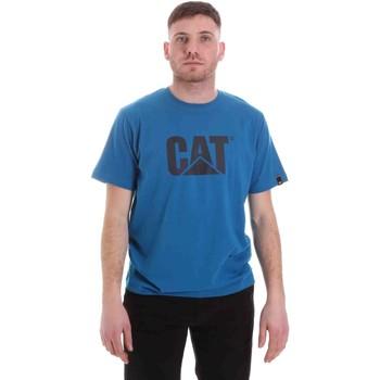 Υφασμάτινα Άνδρας T-shirt με κοντά μανίκια Caterpillar 35CC2510150 Μπλε