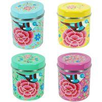 Σπίτι Κουτιά αποθήκευσης Signes Grimalt Τσάι Box 4 Σεπτεμβρίου Μονάδες Multicolor