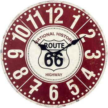 Σπίτι Ρολόγια τοίχου Signes Grimalt Ρολόι Rojo
