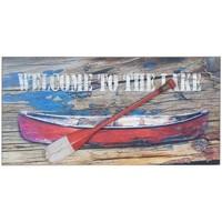 Σπίτι Πίνακες Signes Grimalt Πλάκα Τοίχου Barca Ρέμο Multicolor
