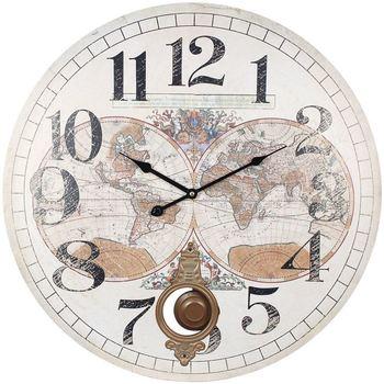 Σπίτι Ρολόγια τοίχου Signes Grimalt Κόσμος 58 Ρολόι Blanco