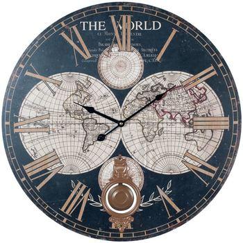 Σπίτι Ρολόγια τοίχου Signes Grimalt Παγκόσμιο Ρολόι Τοίχου Multicolor