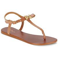 Παπούτσια Γυναίκα Σανδάλια / Πέδιλα Betty London BASTINE CAMEL