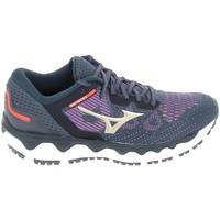 Παπούτσια Γυναίκα Τρέξιμο Mizuno Wave Horizon 5 Bleu Μπλέ