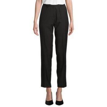Υφασμάτινα Γυναίκα Παντελόνια κοστουμιού Sols GABIN WOME Negro profundo