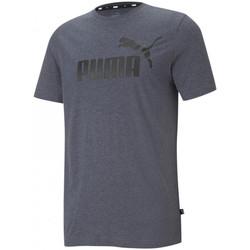 Υφασμάτινα Άνδρας Αμάνικα / T-shirts χωρίς μανίκια Puma Essentials Γκρί