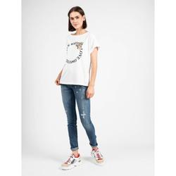 Υφασμάτινα Γυναίκα T-shirt με κοντά μανίκια Liu Jo  Άσπρο