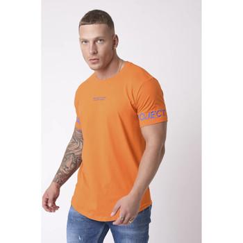Υφασμάτινα Άνδρας T-shirts & Μπλούζες Project X Paris  Orange