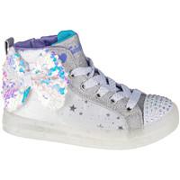 Παπούτσια Παιδί Ψηλά Sneakers Skechers Shuffle Brights 2.0 Blanc