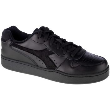 Παπούτσια Άνδρας Χαμηλά Sneakers Diadora Mi Basket Low Noir