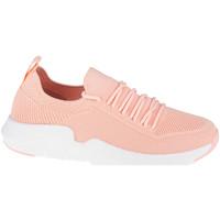 Παπούτσια Γυναίκα Χαμηλά Sneakers Big Star Shoes Rose