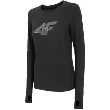 Υφασμάτινα Γυναίκα Μπλουζάκια με μακριά μανίκια 4F Women's Functional Longsleeve Noir