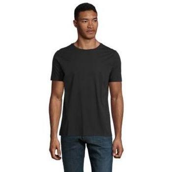 Υφασμάτινα Άνδρας T-shirt με κοντά μανίκια Sols LUCAS MEN Negro profundo
