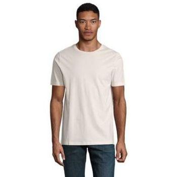 Υφασμάτινα Άνδρας T-shirt με κοντά μανίκια Sols LUCAS MEN Nude