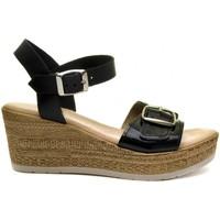 Παπούτσια Γυναίκα Σανδάλια / Πέδιλα Purapiel 70161 BLACK