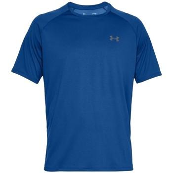 Υφασμάτινα Άνδρας T-shirt με κοντά μανίκια Under Armour Tech 2.0 Short Sleeve Bleu