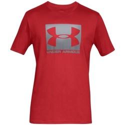 Υφασμάτινα Άνδρας T-shirt με κοντά μανίκια Under Armour Boxed Sportstyle SS Tee Rouge