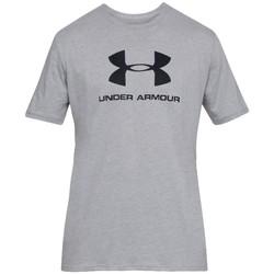 Υφασμάτινα Άνδρας T-shirt με κοντά μανίκια Under Armour Sportstyle Logo Tee Grise