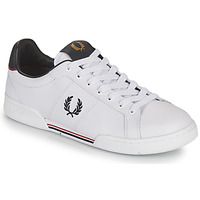 Παπούτσια Άνδρας Χαμηλά Sneakers Fred Perry B722 Άσπρο