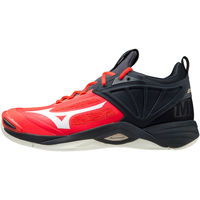 Παπούτσια Άνδρας Multisport Mizuno Chaussures  Wave Momentum 2 rouge/blanc/noir