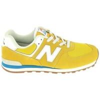 Παπούτσια Παιδί Χαμηλά Sneakers New Balance GC574 Jr Or Bleu Gold