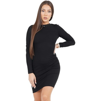 Υφασμάτινα Γυναίκα Κοντά Φορέματα Sixth June Robe femme  Classique noir